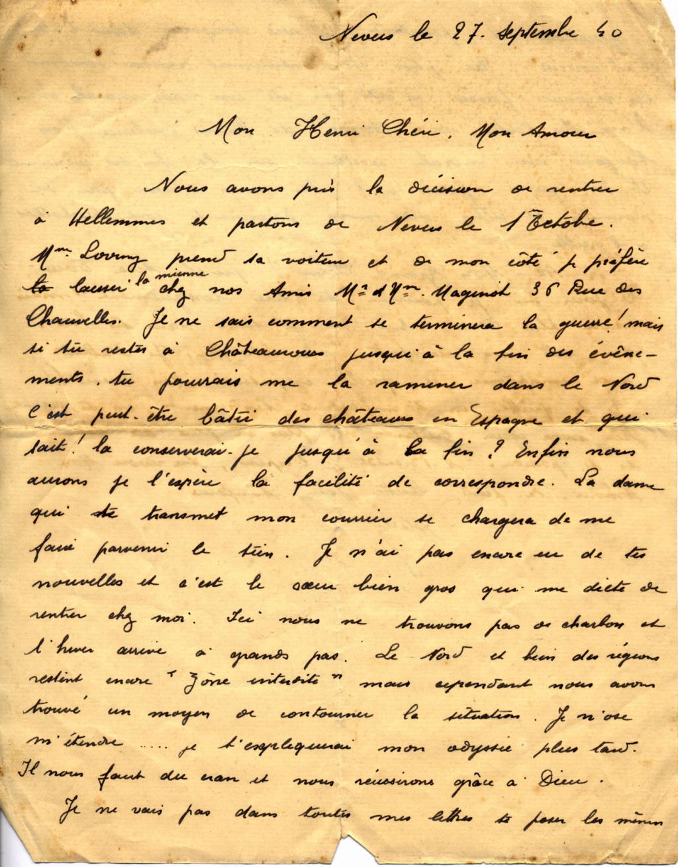 Le courrier en octobre 40 Nevers11