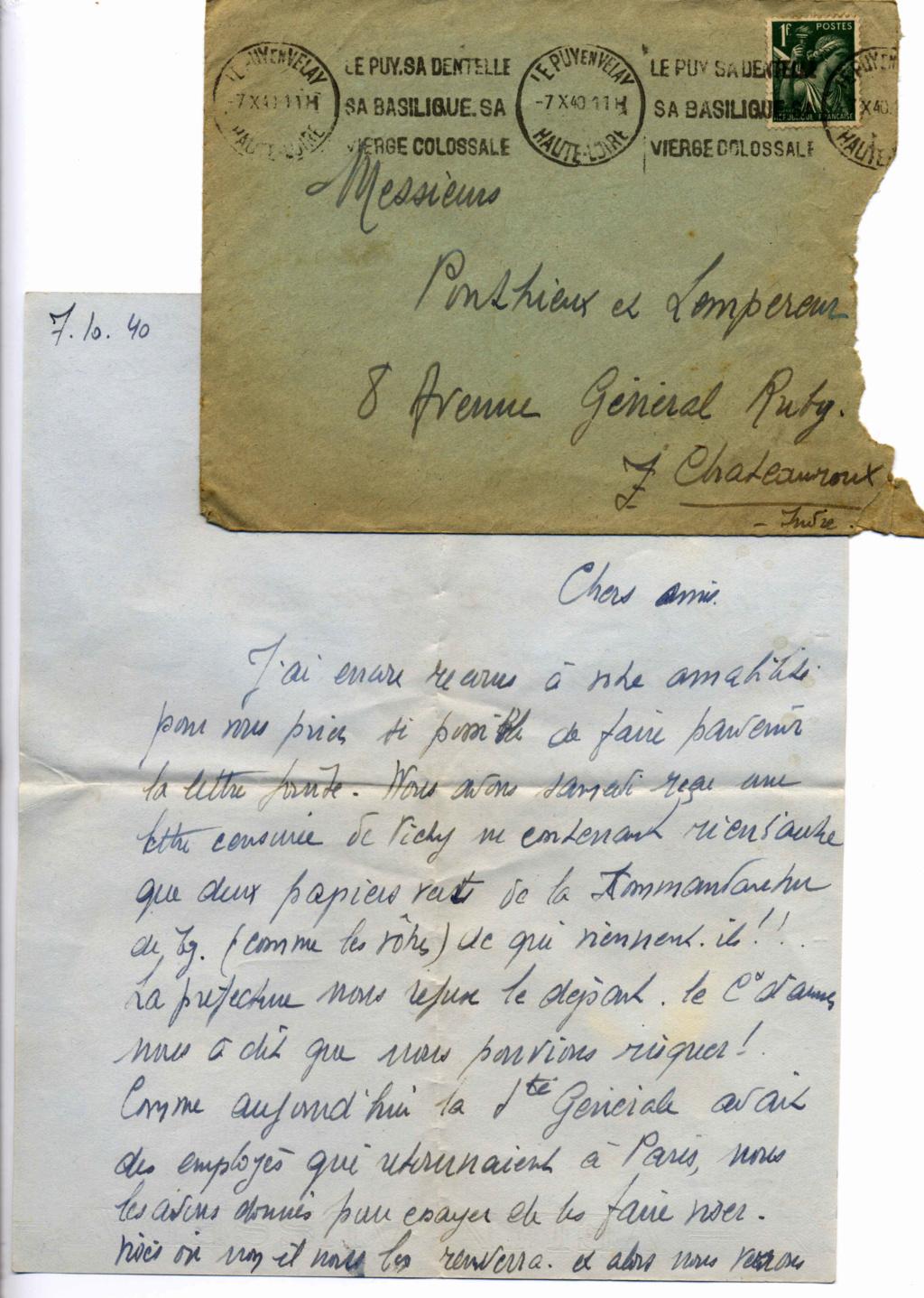 Le courrier en octobre 40 Ponthi11