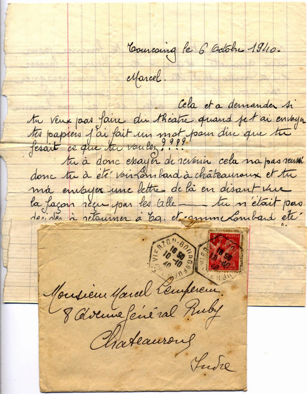 Le courrier en octobre 40 Tourco10