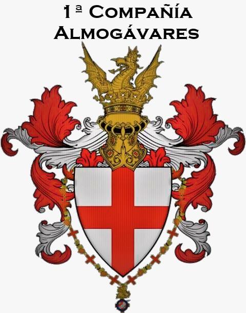 1ª Compañía Almogávares de Montserrat - Infantería Ligera Escudo10
