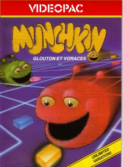 [RECH] Videopac MUNCHKIN  Munchk12