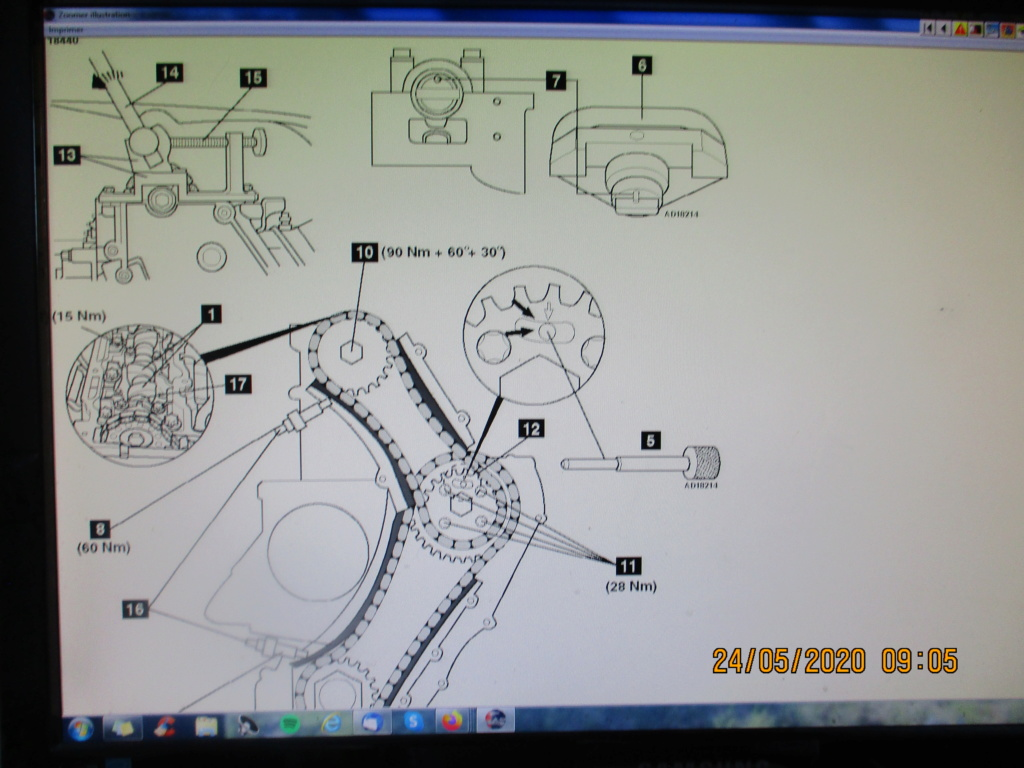 [ Opel Zafira 2.2 dti an 2004 ] ne démarre plus après remplacement moteur  Img_0014