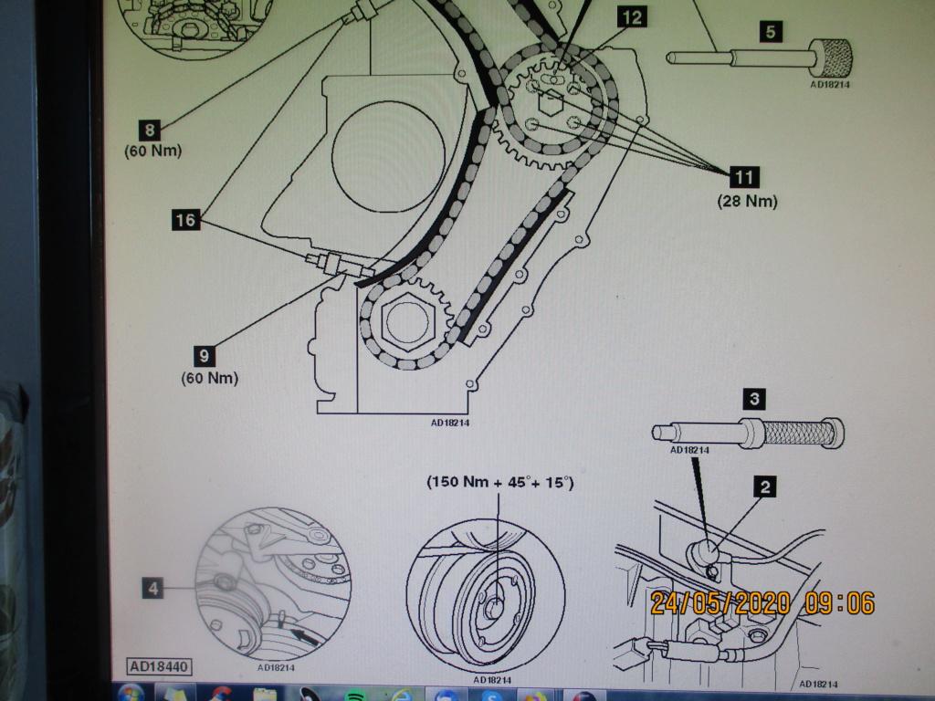 [ Opel Zafira 2.2 dti an 2004 ] ne démarre plus après remplacement moteur  Img_0015