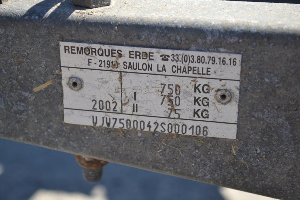 PETITES ANNONCES - vend remorque transport moto Remorq14