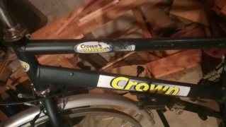 Vélo de trekking Crown Power Img_2071