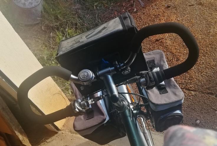 Vélo de trekking Crown Power Img_2074