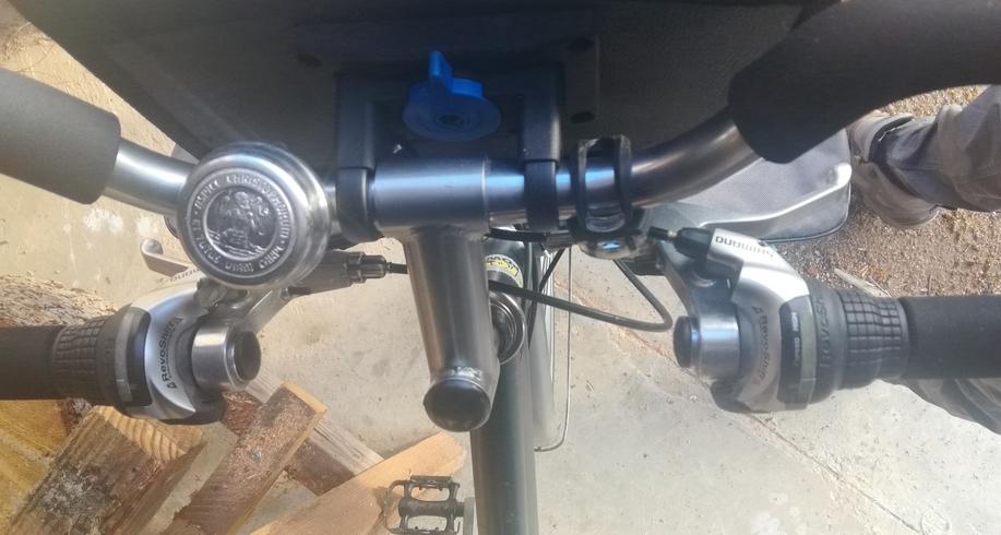 Vélo de trekking Crown Power Img_2077
