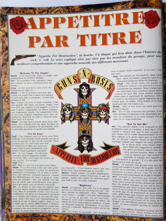 1994.MM.DD - GNR French magazine 1994 Hard Force (hors-serie) P2010