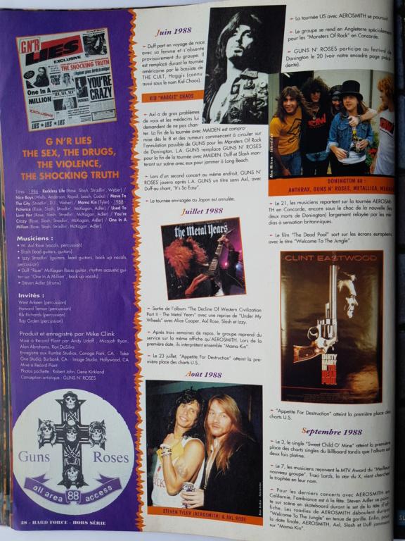 1994.MM.DD - GNR French magazine 1994 Hard Force (hors-serie) P2810
