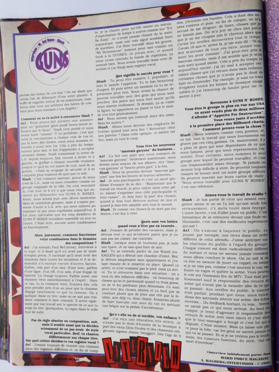 1994.MM.DD - GNR French magazine 1994 Hard Force (hors-serie) P3210