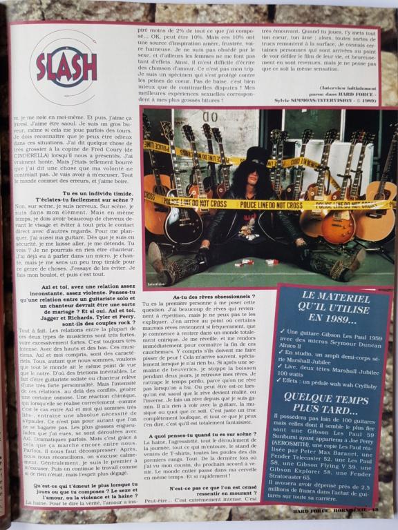 1994.MM.DD - GNR French magazine 1994 Hard Force (hors-serie) P4110