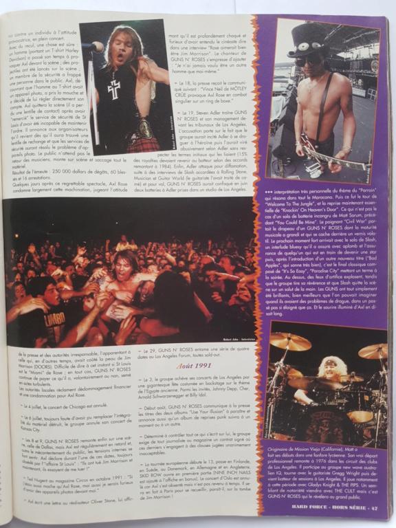1994.MM.DD - GNR French magazine 1994 Hard Force (hors-serie) P4510