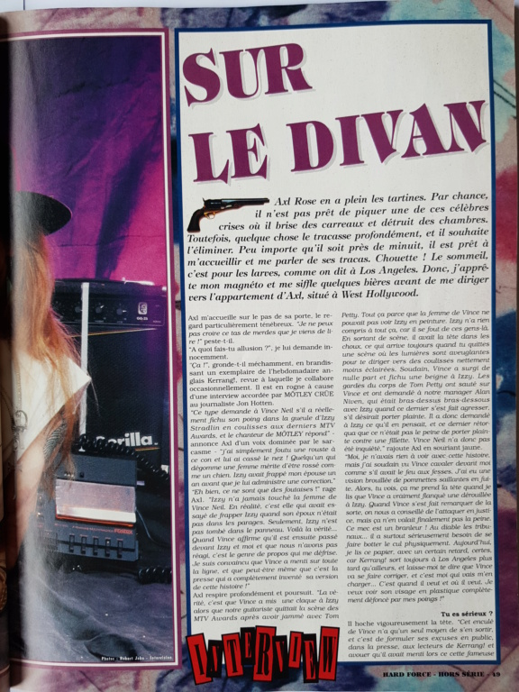 1994.MM.DD - GNR French magazine 1994 Hard Force (hors-serie) P4711