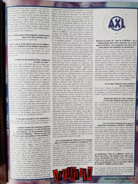 1994.MM.DD - GNR French magazine 1994 Hard Force (hors-serie) P5110