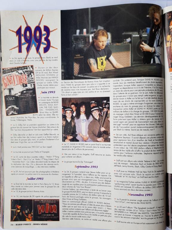 1994.MM.DD - GNR French magazine 1994 Hard Force (hors-serie) P7010
