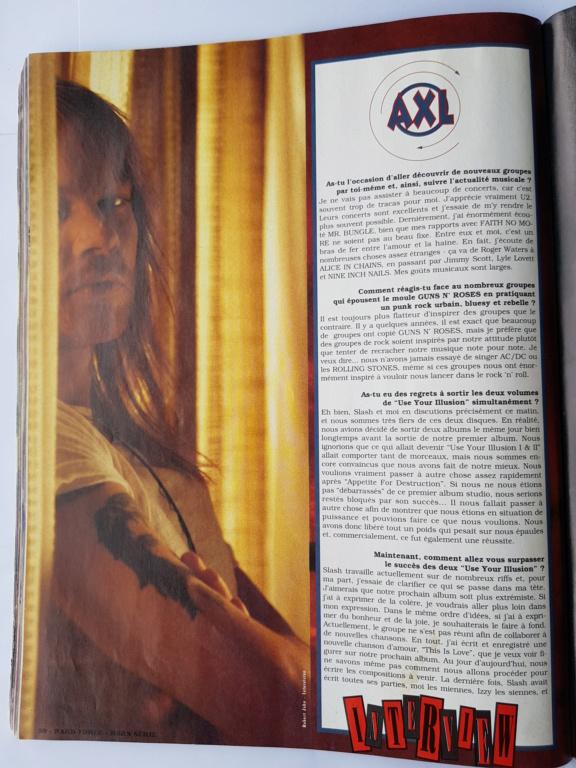 1994.MM.DD - GNR French magazine 1994 Hard Force (hors-serie) P7410