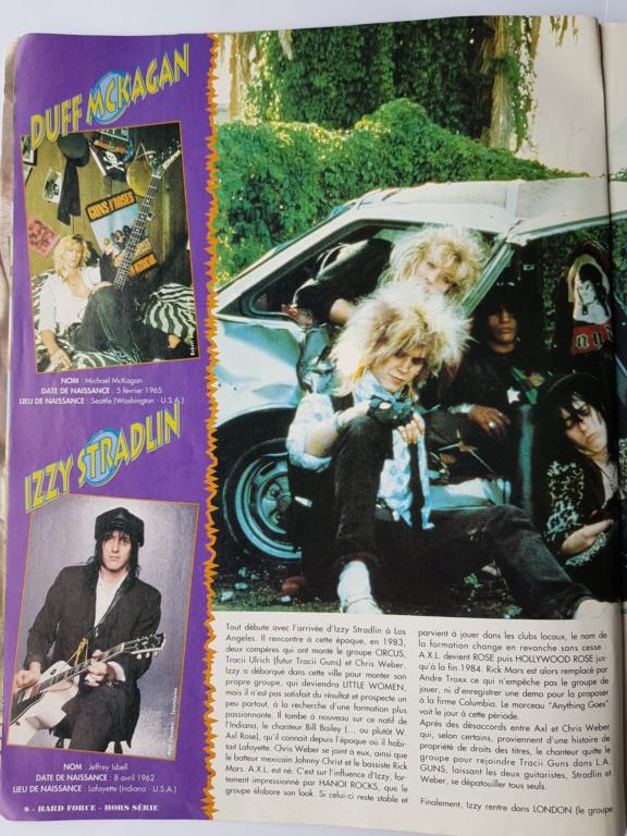 1994.MM.DD - GNR French magazine 1994 Hard Force (hors-serie) P810