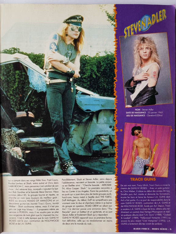 1994.MM.DD - GNR French magazine 1994 Hard Force (hors-serie) P910