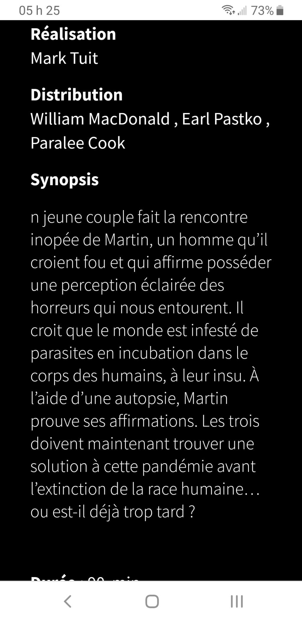 Sous-humain (Subhuman) Qui fait la voix de Martin? Screen10