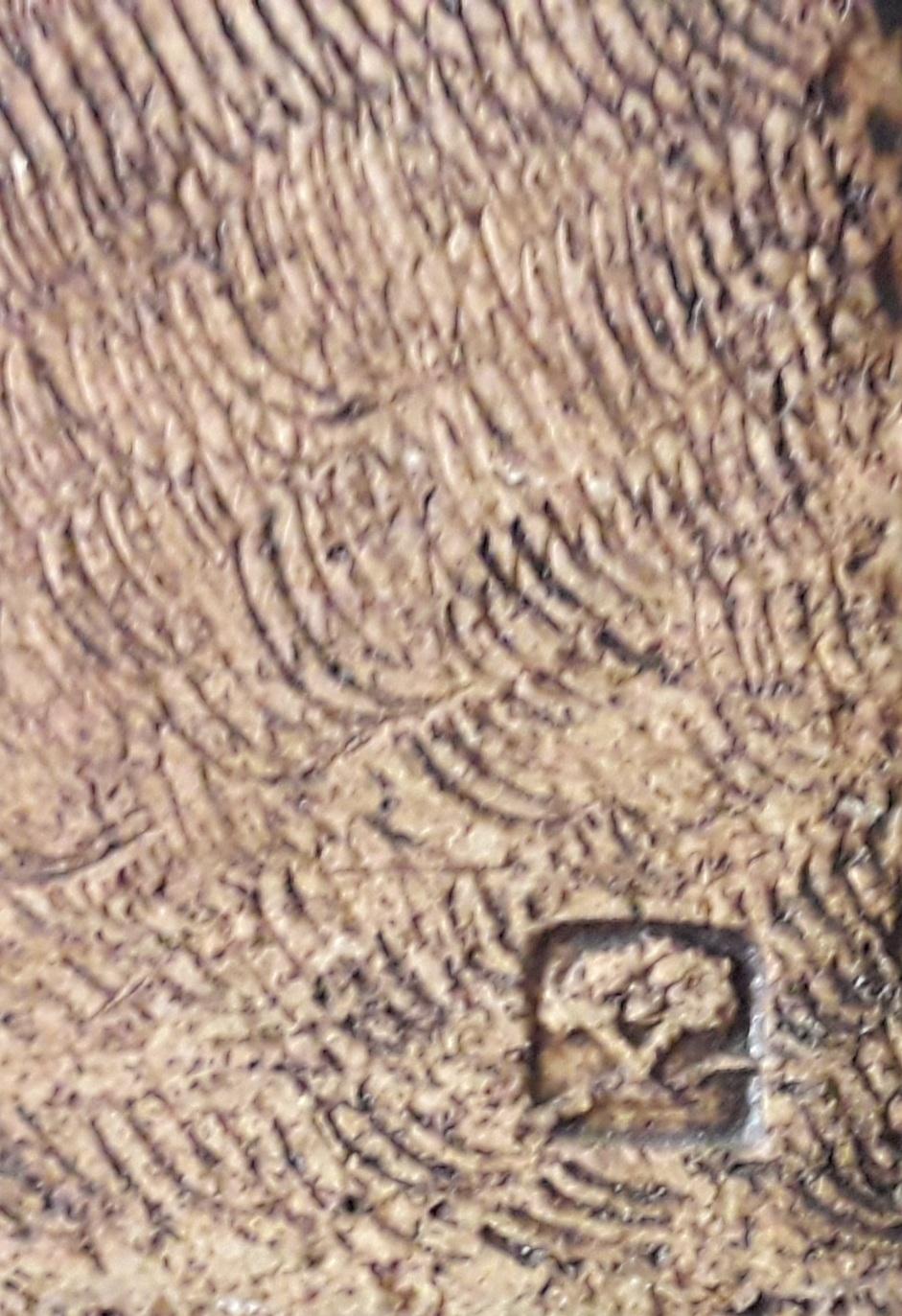 Large vase, tree mark - John Heath, Glasfryn Pottery, Wales  20200811