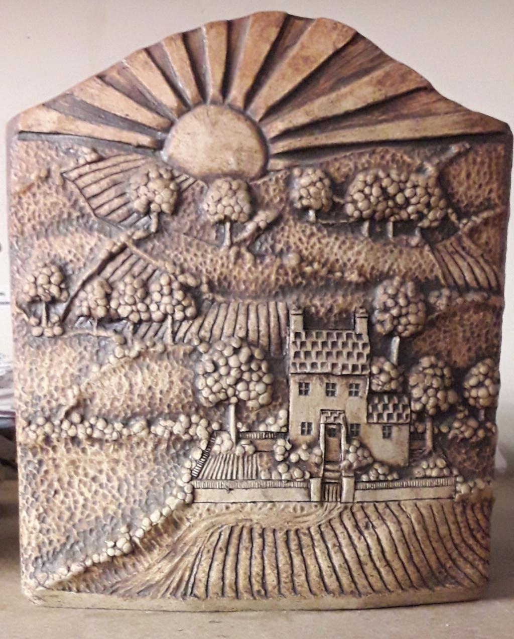 Large vase, tree mark - John Heath, Glasfryn Pottery, Wales  20200812