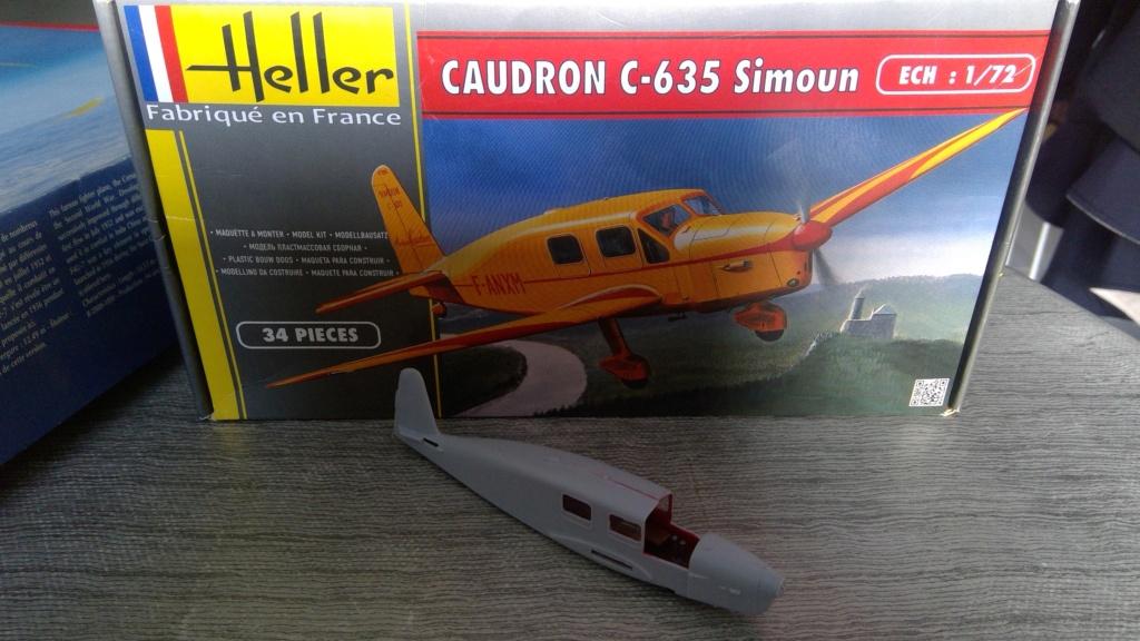 CAUDRON C-635 SIMOUN 1/72ème Réf 80208 Win_2013