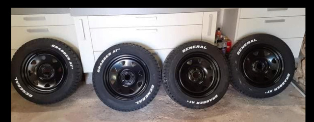 4 pneus GRABBER AT3 225/65R17 Captur11
