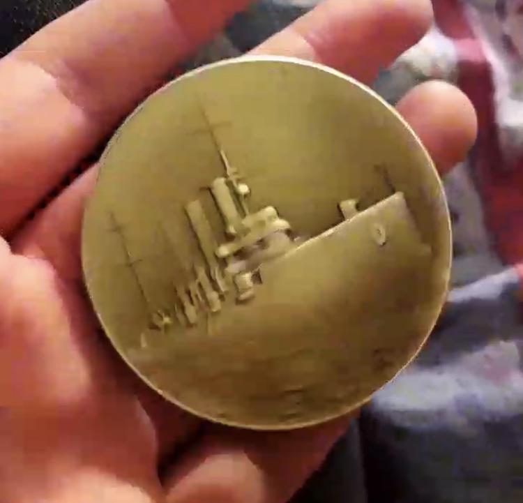 Médaille de navire à identifier  Ce6c2710