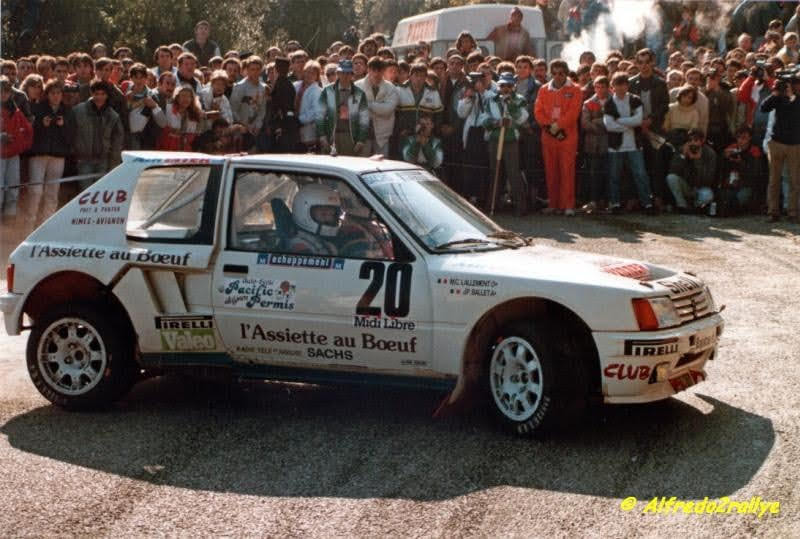 205 TURBO 16 groupe B client 10782410