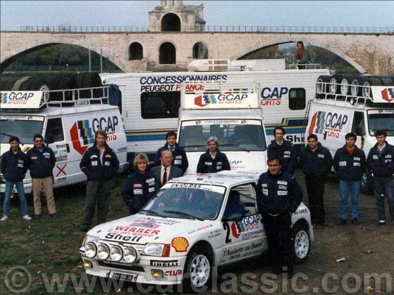 205 TURBO 16 groupe B client 10783810