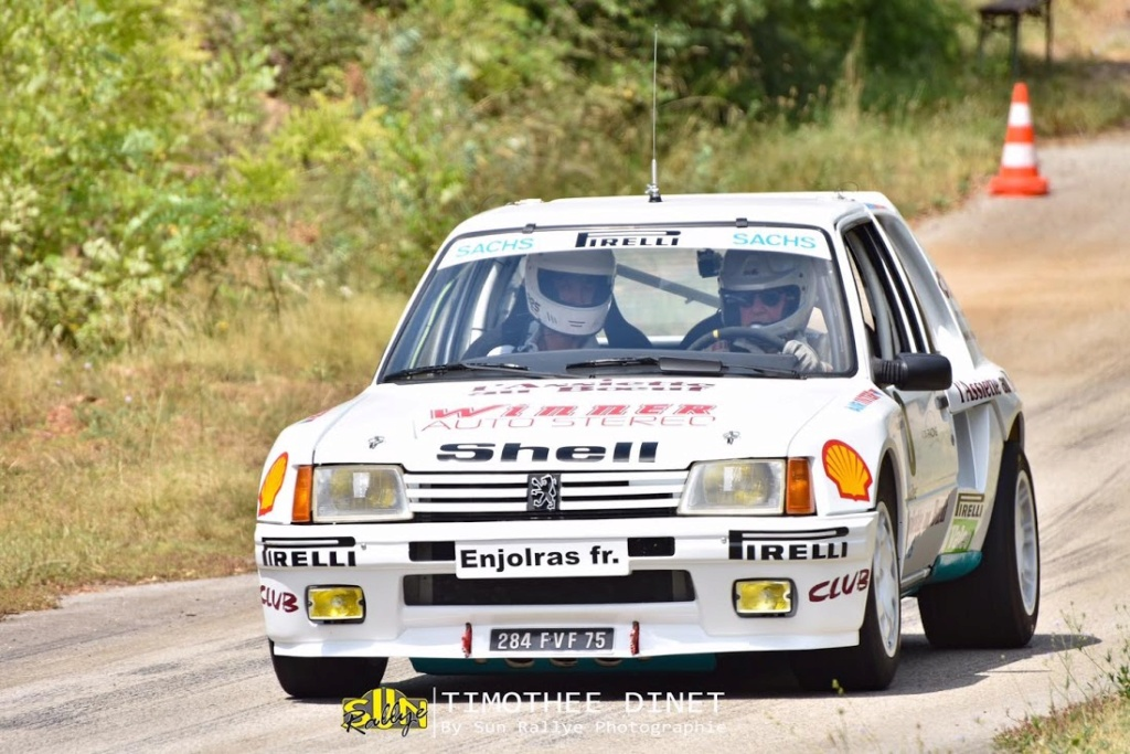205 TURBO 16 groupe B client 13575310