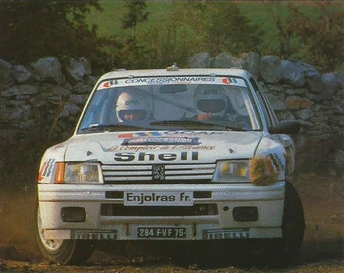 205 TURBO 16 groupe B client 94556910