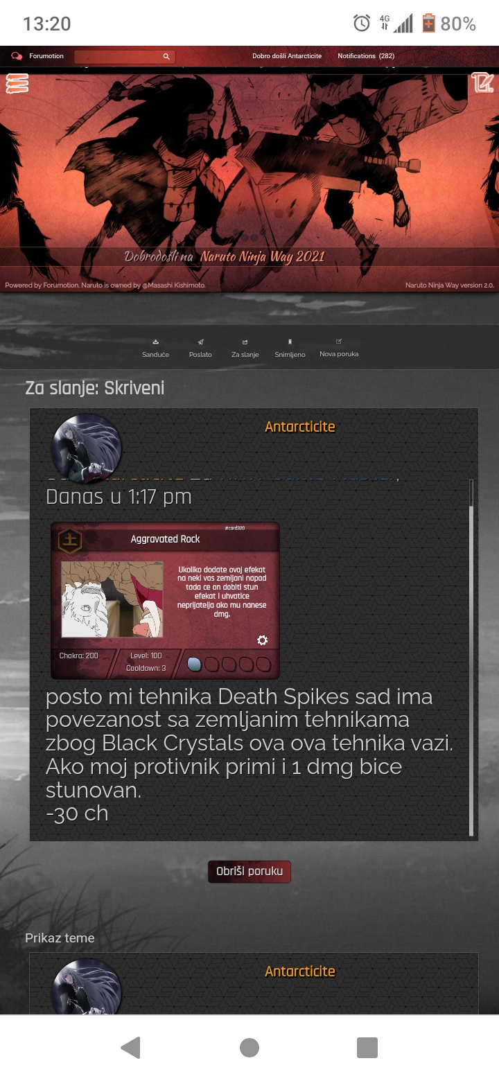Grupa D: Antarcticite vs. Mochizuki Screen12