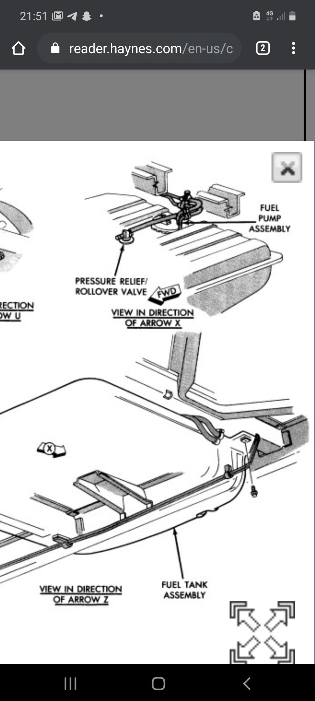 Capteur de pression réservoir essence s2 2.5ess 1991 Screen10