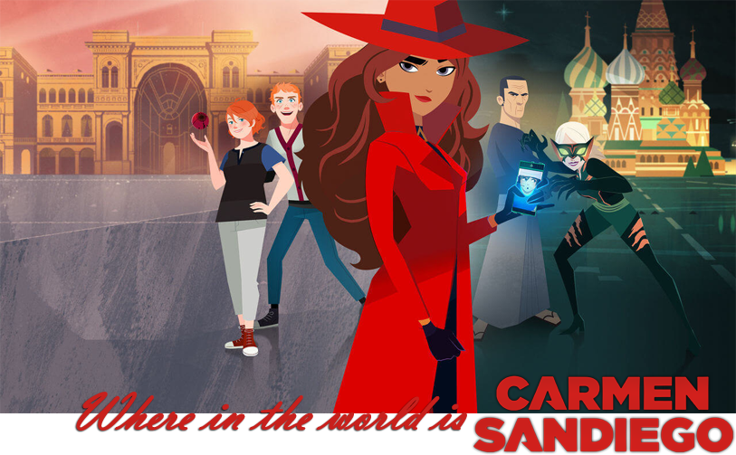 Where is Carmen Sandiego