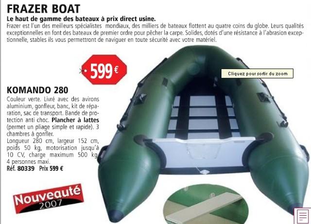 Embarcation pneumatique Bateau10