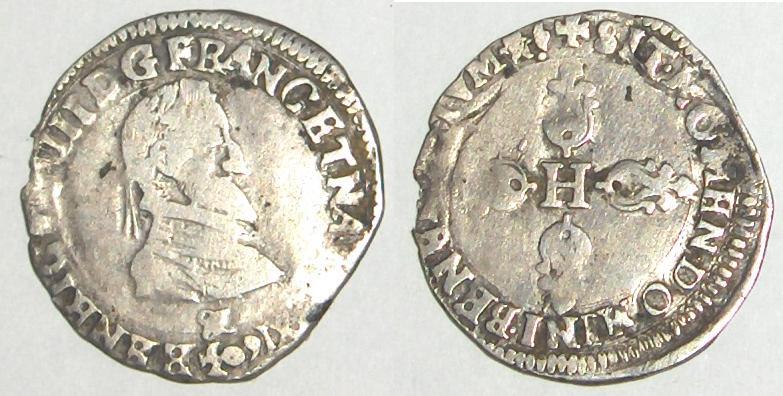 Quart de franc, Henri III Henri10