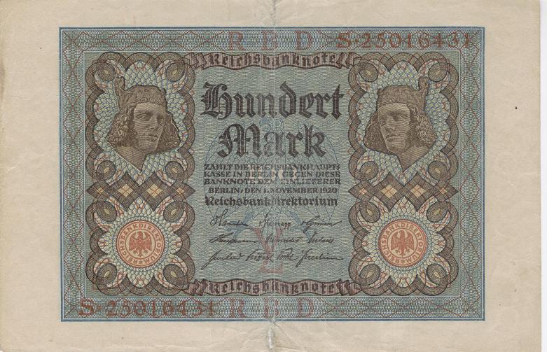 alemania 1920 Billet10