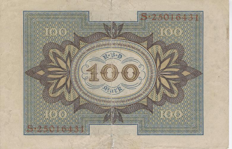 alemania 1920 Billet11