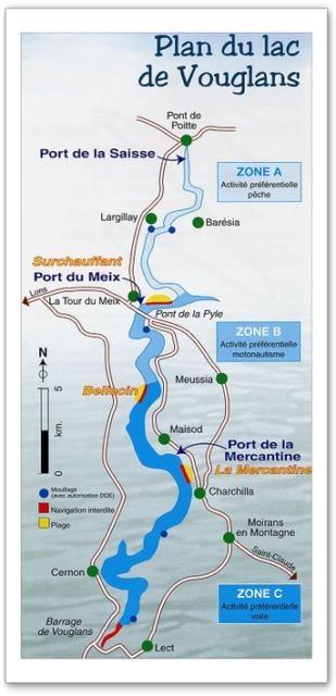 lac de Vouglans (39) Bv000010