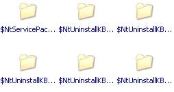 Gagner de l'espace disque sous Windows XP Dossie11