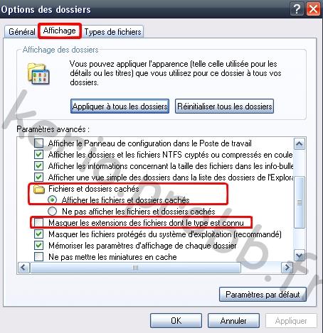 Gagner de l'espace disque sous Windows XP Fichie11
