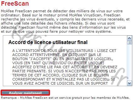 McAfee antivirus en ligne Mcafee10