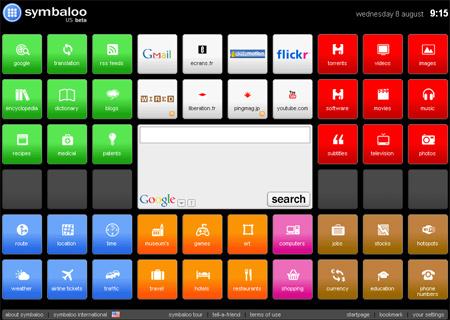 Pour une interface Symbaloo Style Arton110