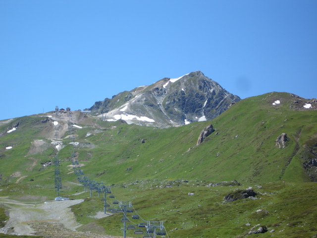 Les Arcs 2000 / col de la Chal / Aiguille Grive Dsc02011