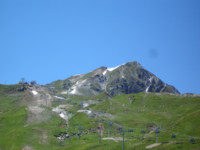 Les Arcs 2000 / col de la Chal / Aiguille Grive Dsc02014