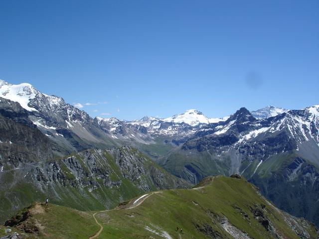 Les Arcs 2000 / col de la Chal / Aiguille Grive Dsc02115