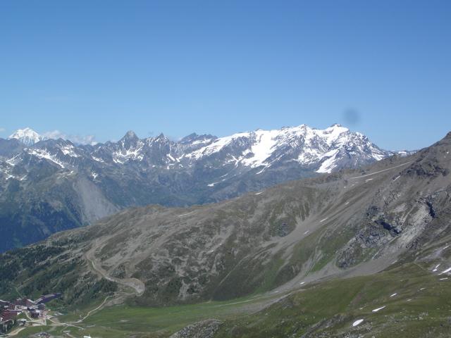 Les Arcs 2000 / col de la Chal / Aiguille Grive Dsc02119