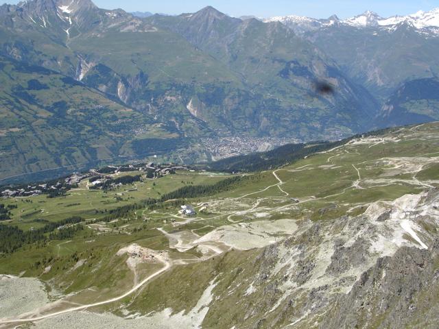 Les Arcs 2000 / col de la Chal / Aiguille Grive Dsc02121