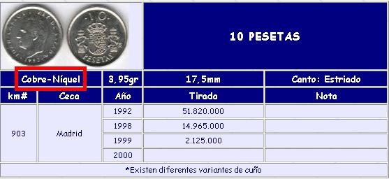 10 pesetas de Juan Carlos I (Madrid, 1992 d.C) 10_pes10